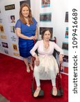Small photo of Peggy Lane, Donna Russo attend FYC Us Underdog Emmy Screenings and Charity Event at Van Nuys/Reseda Elks Lodge at Van Nuys/Reseda Elks Lodge, Los Angeles, CA on May 25th, 2018