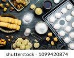 cookies for celebration of el...   Shutterstock . vector #1099420874