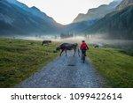 senior woman  riding her...   Shutterstock . vector #1099422614