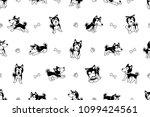 vector cartoon character... | Shutterstock .eps vector #1099424561