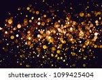 christmas bokeh background... | Shutterstock . vector #1099425404
