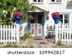 Entrance To An Old House In...