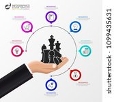 infographic design template.... | Shutterstock .eps vector #1099435631