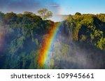Rainbow Over Victoria Falls ...