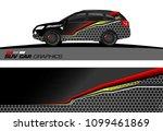 suv car graphics for vinyl wrap.... | Shutterstock .eps vector #1099461869