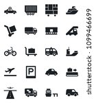 set of vector isolated black... | Shutterstock .eps vector #1099466699
