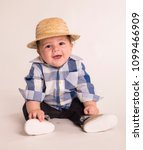 baby boy for brazilian june... | Shutterstock . vector #1099466909