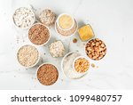 selection various types cereal... | Shutterstock . vector #1099480757