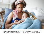 horizontal shot oattractive... | Shutterstock . vector #1099488467