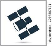heavy duty telescope hubble... | Shutterstock .eps vector #1099507871
