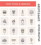 Collection Of 16 Fast Food  ...