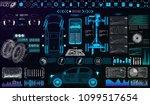 car auto service  modern design ... | Shutterstock .eps vector #1099517654
