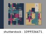 vector minimalistic cover...   Shutterstock .eps vector #1099536671