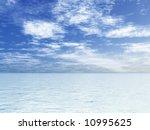 beautiful seascape | Shutterstock . vector #10995625
