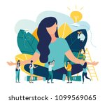vector illustration  the... | Shutterstock .eps vector #1099569065