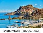 scenic view to castelsardo... | Shutterstock . vector #1099573061