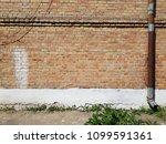 brick wall texture background... | Shutterstock . vector #1099591361