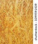 wooden pressed shavings natural ... | Shutterstock . vector #1099591439