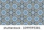 vector patchwork quilt seamless ... | Shutterstock .eps vector #1099595381