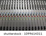 professional sound control panel | Shutterstock . vector #1099614311