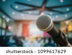 seminar conference concept  ... | Shutterstock . vector #1099617629