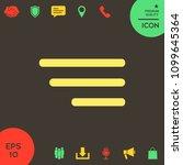 modern menu icon for mobile...