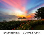 singapore sentosa island sea...   Shutterstock . vector #1099657244