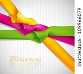 abstract background with... | Shutterstock .eps vector #109966079