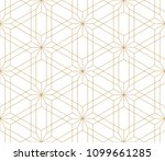 pattern with crossing thin... | Shutterstock .eps vector #1099661285