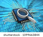 3d illustration of computer... | Shutterstock . vector #1099663844