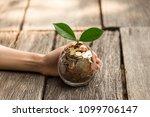 business growht up concept | Shutterstock . vector #1099706147