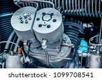 the head of the cylinder block... | Shutterstock . vector #1099708541