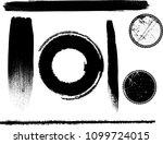 hand drawn scribble symbols...   Shutterstock .eps vector #1099724015