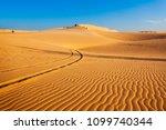Sand Dunes On Sunset Near Mui...