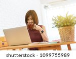 woman small business owner ...   Shutterstock . vector #1099755989