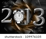 2013 year inscription on the... | Shutterstock . vector #109976105