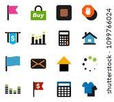 solid vector ixon set   flag... | Shutterstock .eps vector #1099766024