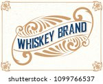 vintage packing label.... | Shutterstock .eps vector #1099766537