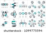 business data visualization.... | Shutterstock .eps vector #1099775594