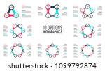 vector circle elements for... | Shutterstock .eps vector #1099792874
