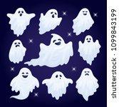 vector illustration  set of... | Shutterstock .eps vector #1099843199