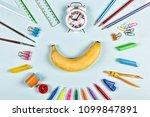 back to school concept.... | Shutterstock . vector #1099847891
