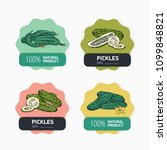 collection of label or sticker... | Shutterstock .eps vector #1099848821