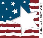 independence day of usa vector...   Shutterstock .eps vector #1099856321