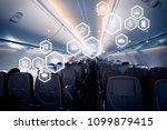 business technology concept on... | Shutterstock . vector #1099879415