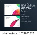 smooth design presentation... | Shutterstock .eps vector #1099879517