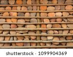 houses with stone walls  ... | Shutterstock . vector #1099904369