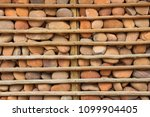 houses with stone walls  ... | Shutterstock . vector #1099904405