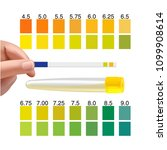 check a urine sample out of the ... | Shutterstock .eps vector #1099908614