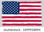 american flag.grunge usa flag... | Shutterstock .eps vector #1099928894